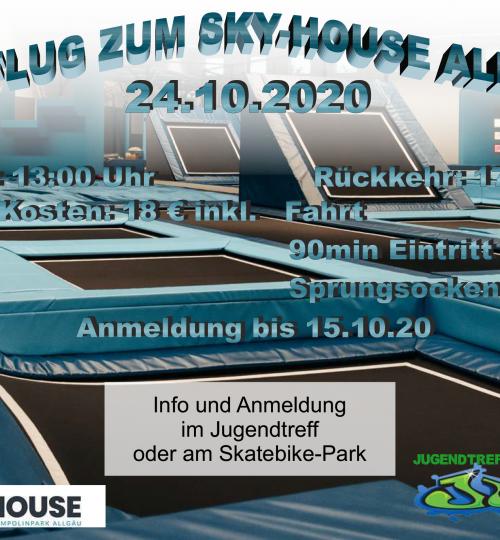 Ausflug Skyhouse